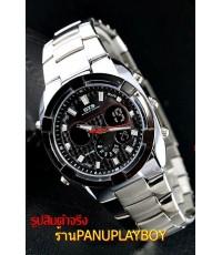 นาฬิกา OTS WATCH นาฬิกานำเข้าจากประเทศเกาหลีของแท้ 100พร้อมกล่อง ใบ ป้าย