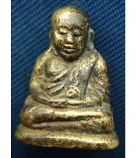 พระรูปหล่อโบราณหลวงพ่อเงิน วัดบางคลาน ตอกโค๊ต ก้น  จ.พิจิตร