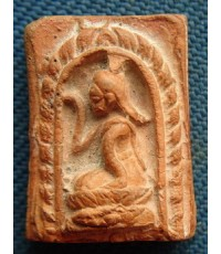 ท่านเจ้าคุณนรรัตน์ราชมานิต วัดเทพศิรินทร์ : นางกวักเนื้อดินปี 2495 สภาพสวย