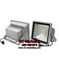 สปอร์ตไลท์ LED 30w CKC มอก. แสงสีเหลือง