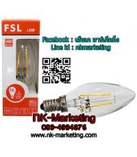 หลอดไฟวินเทจ LED 2w FSL ทรงจำปา