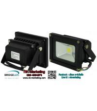 สปอร์ตไลท์ LED 12v-24v 10w แสงสีขาว (BRIDGELUX CHIP)