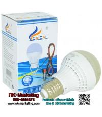 หลอดไฟ LED 12v 5w NT แสงสีขาว (ฝาใส)