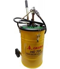 ถังอัดจาระบีมือโยก ยี่ห้อ OKURA รุ่น HG-70 (เครื่องมือช่าง)(JNMV)