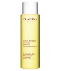 Pre-order : -30 CLARINS Toning Lotion With Camomile  Alcohol-free 200ml.