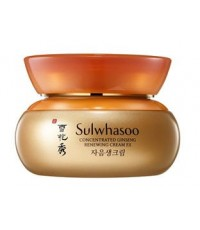Pre-order ลด 40 เปอร์ : SULWHASOO Concentrated Ginseng Renewing Cream EX 60ml.