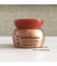 Tester : SULWHASOO Concentrated Ginseng Renewing Cream EX Light 5ml.