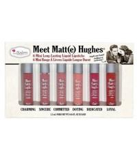 Pre-order : The Balm Meet Matte Hughes 6 Mini Long Lasting Liquid Lipstick (vol.1)