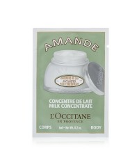 Tester : L\'Occitane Almond Milk Concentrate 6ml. แบบซอง