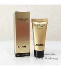 *5ml x 6 หลอด* Tester : Chanel Sublimage La Creme Texture Fine