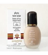 Pre-order : -30 SISLEY Phyto Teint Eclat Fluid Foundation Oil Free 30ml. ~ no.1 Ivory