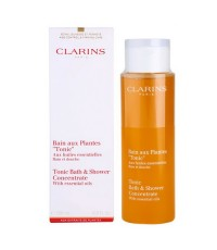 Pre-order : Clarins Tonic Bath and Shower Concentrate 200ml.