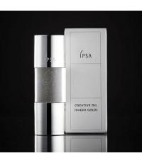 *พร้อมส่ง* IPSA Creative Oil - Sheer Gold 15ml.