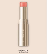Pre-order : -25 Kanebo LUNASOL Color Stick ~ no.01 Sheer Pink