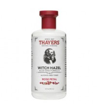 *พร้อมส่ง* Thayers Witch Hazel Aloe Vera Formula Alcohol-Free Toner ~ Rose Petal 355ml.