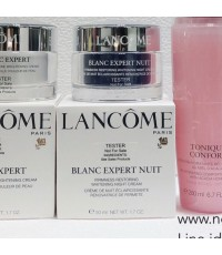 ลด 60 เปอร์ : Lancome BLANC EXPERT FIRMNESS RESTORING WHITENING NIGHT CREAM 50ml. Tester กล่องขาว