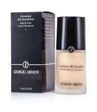 Pre-order : GIORGIO ARMANI Luminous Silk Foundation 30ml. ~ no.3