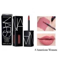 Tester : NARS Powermatte Lip Pigment 2ml. ~ สี American Women