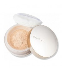 Pre-order : LUNASOL Airy Lucent Powder 15g. ~ no.00 Sheer พร้อมตลับ + พัฟ