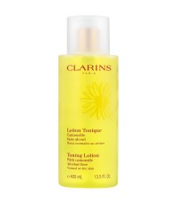 Pre-order : CLARINS Toning Lotion With Camomile  Alcohol-free 400ml.