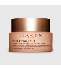 Pre-order : *ราคาพิเศษ* Clarins Extra-Firming Nuit Wrinkle Control 50ml. กล่อง Tester