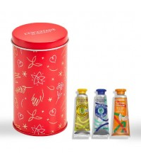 Pre-order : L\'OCCITANE Christmas Soft and Tender Mini Hand Cream Set