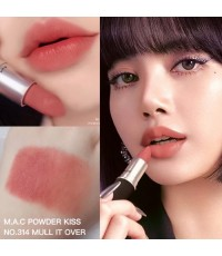 *พร้อมส่ง* MAC Powder Kiss Lipstick - no.314 Mull it Over