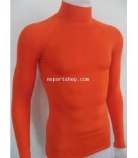 เสื้อกีฬารัดกล้ามเนื้อ(สีส้ม)