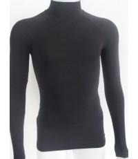 เสื้อรัดกล้ามเนื้อ(สีดำ)