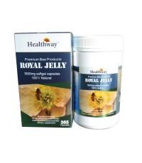 นมผึ้งเฮลเวย์ 6 เปอร์เซ็น Healthway Royal Jelly เข้มข้น 1600 mg HDA 6 เปอร์เซ็น 365 เม็ด