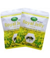 Nature\'s King Royal Jelly นมผึ้ง 1000 mg. พกสะดวก (ซองละ 30 แคปซูล) 2 ซอง
