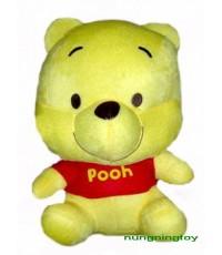 ตุ๊กตาเบบี้คิวตี้หมีพูห์สูง 9 นิ้ว น่ารักมากๆๆ เป็นของขวัญประทับใจสุดๆจ้า