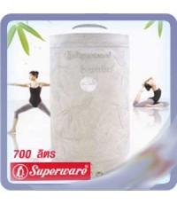 ถังน้ำ Superware รุ่น 700 ลิตร Bambu Silver Nano