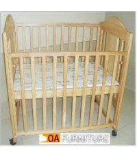 เตียงไม้เด็ก PG136