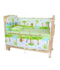เตียงนอนเด็กไม้ อเนกประสงค์ Paradise Bed