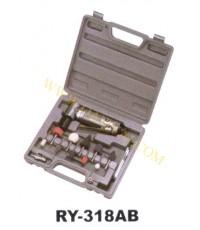 เครื่องเจียรนัยแม่พิมพ์ใช้ลม คอฉากชุด แกน 6 mm รุ่น RY-318AB   RY