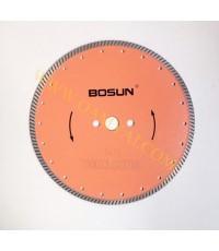 ใบเพชรตัดคอนตรีต ขนาด 10 นิ้ว รุ่น TURBO  BOSUN