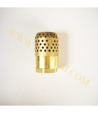 ฟุตวาล์วทองเหลือง ยูนิเวอร์แซล  ขนาด 2.5 นิ้ว