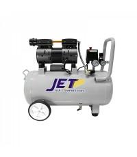 ปั๊มลมเสียงเงียบไม่ใช้น้ำมัน 50 ลิตร รุ่น JOS-150  JET