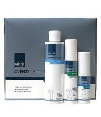 Obagi Set Clenziderm Acne System - Normal to Dry Skin เซตรักษาสิวแบบยกเซต สำหรับผิวปกติถึงผิวแห้ง
