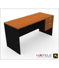 โต๊ะทำงาน 2 ลิ้นชัก ขนาด 150(ก) ซม. (เฟอร์นิเจอร์สำนักงาน)