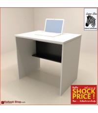 โต๊ะทำงานโล่ง ขนาด 80(ก)*60(ล)*75(ส) ซม. (เมลามีนทั้งตัว)