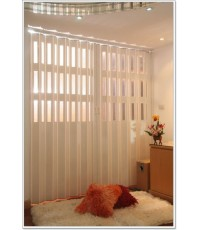 ฉากกั้นห้อง ฉากกั้นห้องญี่ปุ่น ฉากกั้นแอร์ ม่านกั้นห้อง ม่านกั้นแอร์ ฉากกั้นห้อง PVC รุ่นมีช่องแสง
