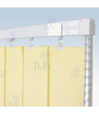 ม่านปรับแสง TLBs โปร่งแสง (เชือกปรับ) ขนาดใบ 8.9 ซม. ผ้า 555A09