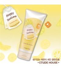 **เลิกผลิต**Etude House Happy Teatime Cleansing Foam (Lemon Tea)