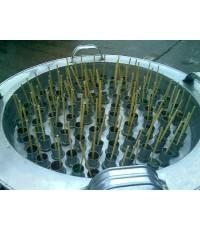 ถังไอติมหลอด สแตนเลสทั้งชิ้น ขนาด40หลอด 60หลอด 80หลอด และ100หลอด ราคา2,300 -2,700 - 3,100 - 3,500บาท