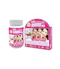 Supreme GLUTA WHITE 1500000 mg. Whitening  Anti Aging หน้าเล็กเรียว ขาวอมชมพูอย่างไร้ขีดจำกัด โนนาก