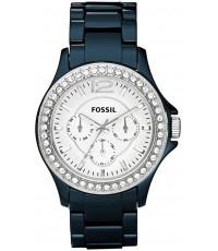 นาฬิกา Fossil CE1045 women\'s Riley Ceramic Watch - Navy