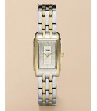 นาฬิกา Fossil ES2848 Lady Square two tone