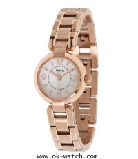 นาฬิกา Fossil ES2887 Women Evelyn Plated Stainless Steel Watch